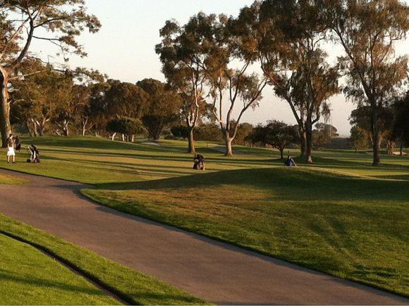 Golfing At Torrey Pines