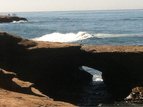 Nice waves @ Sunset Cliffs