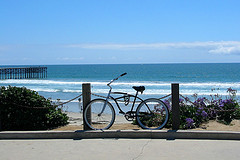 Biking to the Beach
